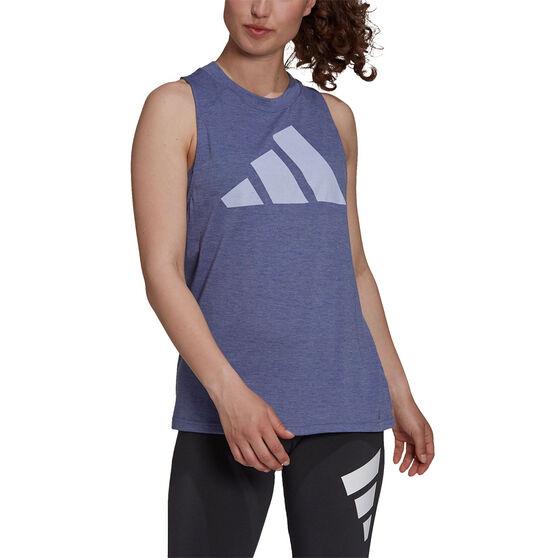 adidas Womens Winners 2.0 Tank, Purple, rebel_hi-res