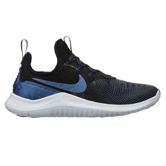 Nike Free TR 8 Metallic Womens Training Shoes, Black / Grey, rebel_hi-res