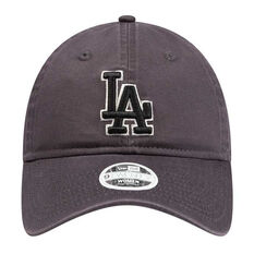 Los Angeles Dodgers Womens New Era 9TWENTY Graphite Team Cap, , rebel_hi-res