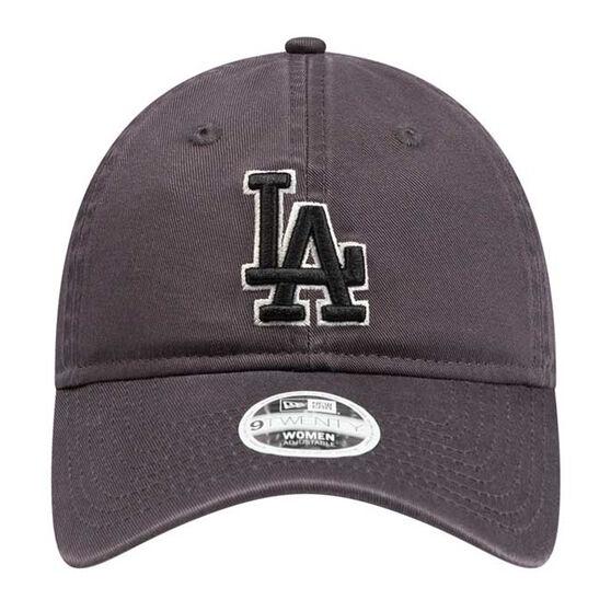 Los Angeles Dodgers Womens New Era 9TWENTY Graphite Team Cap, , rebel_hi-res