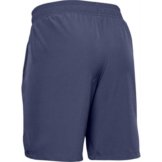 Under Armour Boys Woven Shorts, Blue, rebel_hi-res