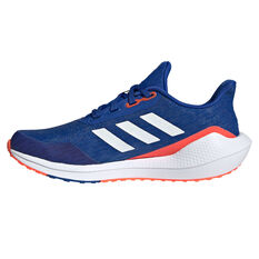 adidas EQ21 Run Kids Running Shoes Blue/White US 4, Blue/White, rebel_hi-res