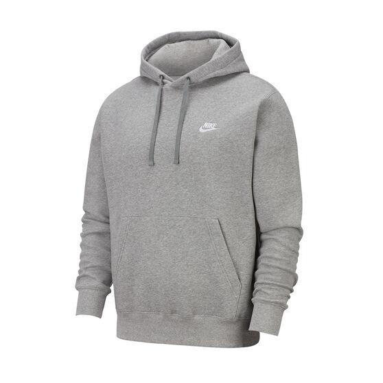 Nike Sportswear Mens Club Fleece Hoodie, Grey, rebel_hi-res