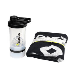 Celsius Cotton Towel & Shaker, , rebel_hi-res