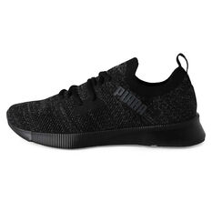 Puma Flyer Runner Mens Running Shoes Black US 7, Black, rebel_hi-res