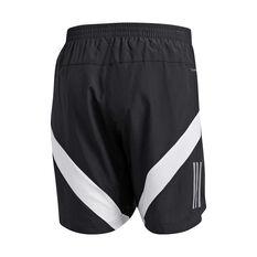 adidas Mens Own the Run 7in Shorts Black S, Black, rebel_hi-res