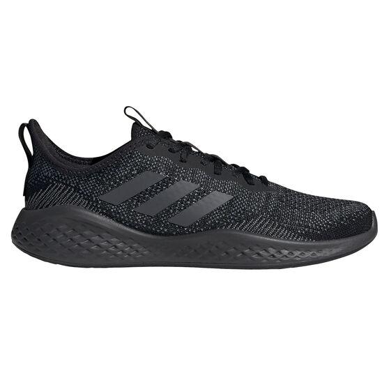 adidas Fluidflow Mens Casual Shoes, Black/Grey, rebel_hi-res
