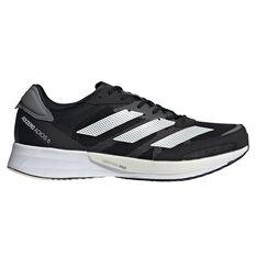 adidas Adizero Adios 6 Mens Running Shoes Black/White US 7, Black/White, rebel_hi-res