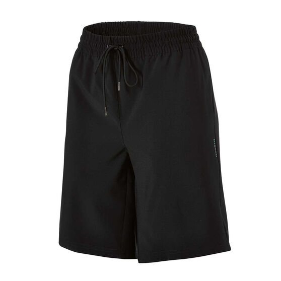 Ell & Voo Womens Desiree Walk Shorts, Black, rebel_hi-res