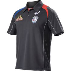 Western Bulldogs 2017 Mens Media Polo Shirt, , rebel_hi-res