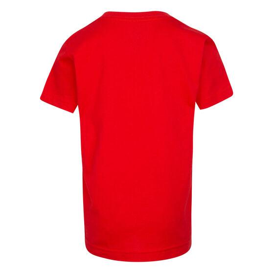 Nike Boys Swoosh JDI SS Tee, Red, rebel_hi-res