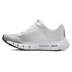 Under Armour HOVR Infinite Womens Running Shoes White / Black US 6.5, White / Black, rebel_hi-res