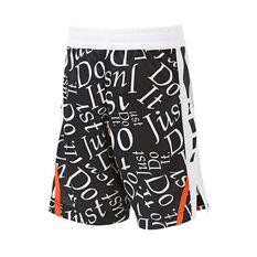 Nike Boys Elite Energy Shorts Black / White 4, Black / White, rebel_hi-res