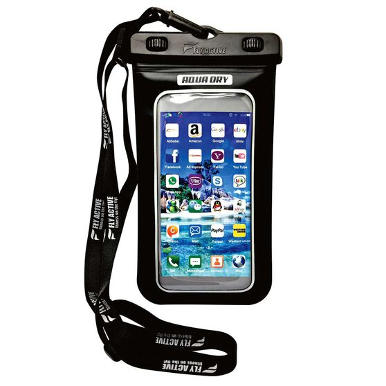 Fly Active Aqua Dry Waterproof Case Black, , rebel_hi-res