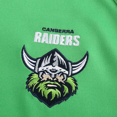 Canberra Raiders 2021 Mens Heritage Jersey, Green, rebel_hi-res