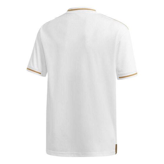 Real Madrid CF 2019/20 Kids Home Jersey White / Gold 16, White / Gold, rebel_hi-res