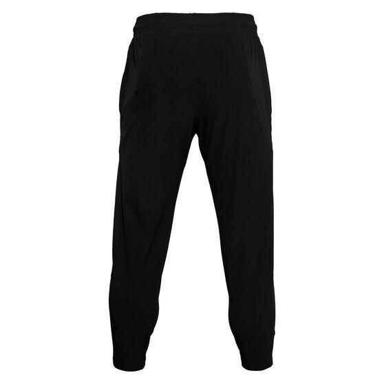 Under Armour Mens Curry UNDRTD Warm Up Pants, Black, rebel_hi-res