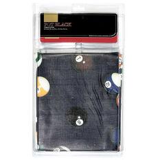 Pot Black Coloured Table Cover, , rebel_hi-res