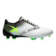 X Blades Voltaic Mens Football Boots Silver / Black US 7.5, Silver / Black, rebel_hi-res