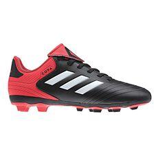 adidas Copa 18.4 FXG Junior Football Boots Black / White US 11 Junior, Black / White, rebel_hi-res