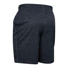 Under Armour Mens Qualifier Printed Training Shorts Grey XS, Grey, rebel_hi-res