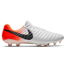 c6e9b46c8 Nike Tiempo Legend VII Elite Football Boots White   Black US 7   Wo8.5 ...