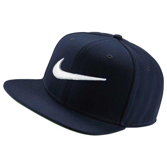 Nike Swoosh Pro Hat Navy / Green OSFA, , rebel_hi-res