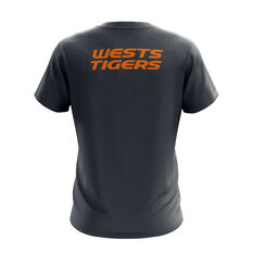 Wests Tigers Exclusive Tee, Grey, rebel_hi-res