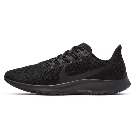 Nike Air Zoom Pegasus 36 Womens Running Shoes, Black, rebel_hi-res