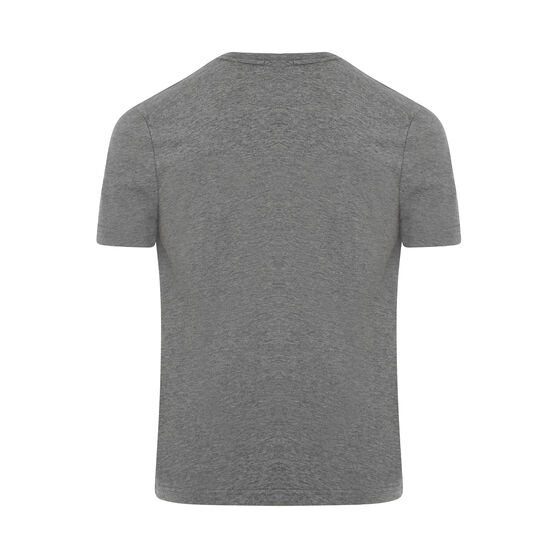Canterbury Mens Small Logo Tee, Grey Marle, rebel_hi-res