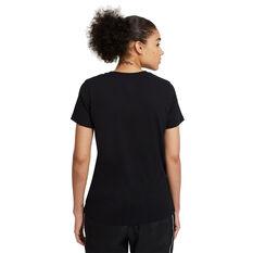 Nike Womens Dri-FIT Royal Flyness Basketball Tee, Black, rebel_hi-res
