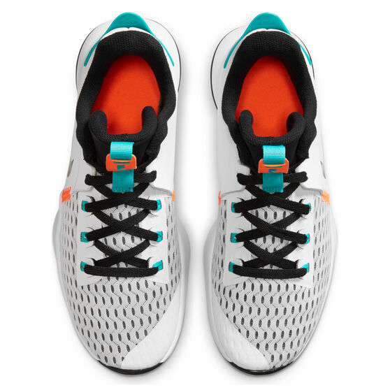 Nike LeBron Witness V Mens Basketball Shoes White/Black US 11, White/Black, rebel_hi-res