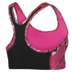 Nike Womens Swoosh Hyper Femme Sports Bra Print XS, Print, rebel_hi-res