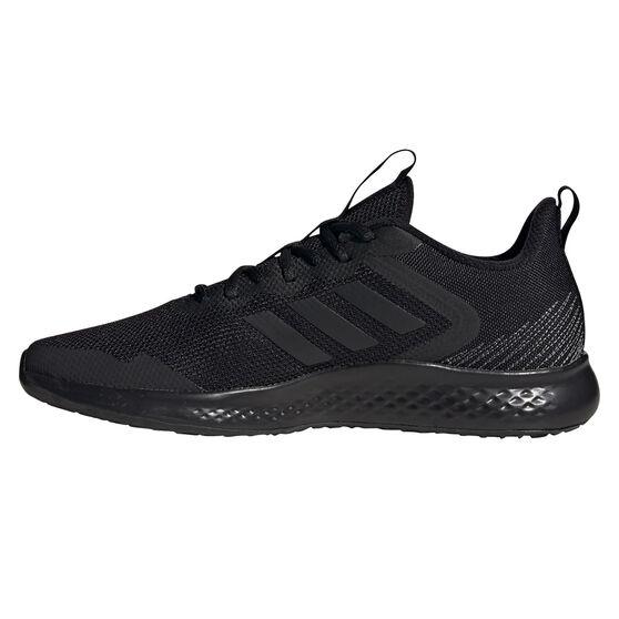 adidas Fluidstreet Mens Running Shoes, Black/Grey, rebel_hi-res