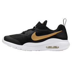 Nike Air Max Oketo Kids Casual Shoes Black / Gold US 11, Black / Gold, rebel_hi-res