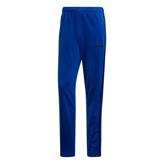adidas Mens Essential 3 Stripes Pants, Royal Blue, rebel_hi-res