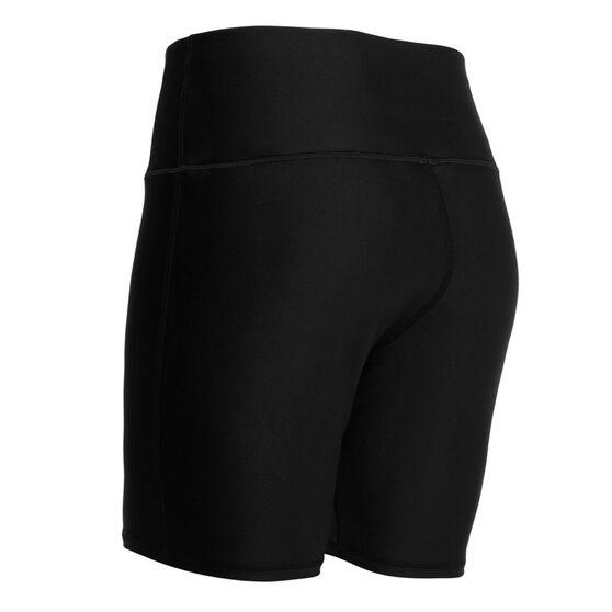 Under Armour Womens HeatGear Armour Bike Shorts Plus, Black, rebel_hi-res