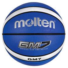 Molten GMX Basketball Blue / White 7, , rebel_hi-res