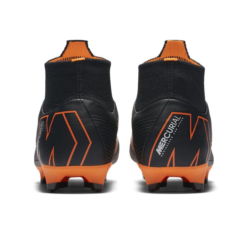c3ed77cd4a Nike Mercurial Superfly VI Pro Mens Football Boots Black / Orange US 7  Adult, Black