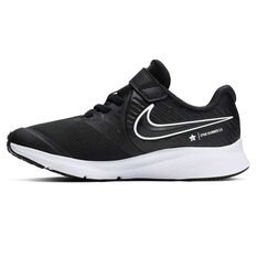 Nike Star Runner 2 Kids Running Shoes Black / White US 11, Black / White, rebel_hi-res