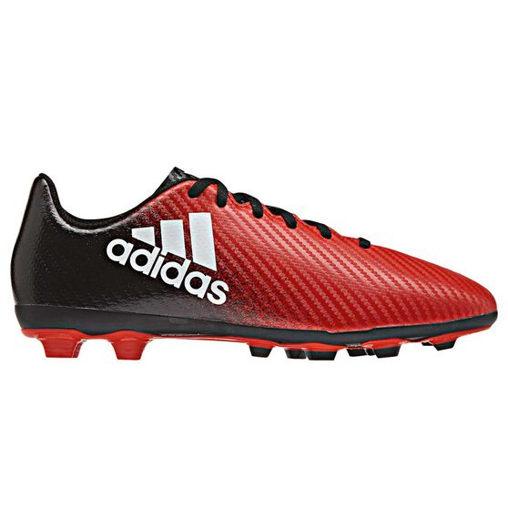 adidas X 16.4 FXG Junior Football Boots Red   White US 11 Junior ... 549462f2f035