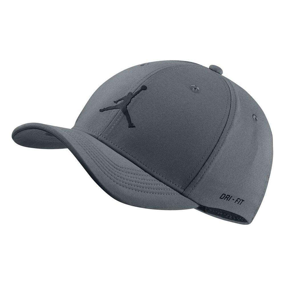 0521191f5a8539 Nike Mens Jordan Classic99 Hat Grey L Adults