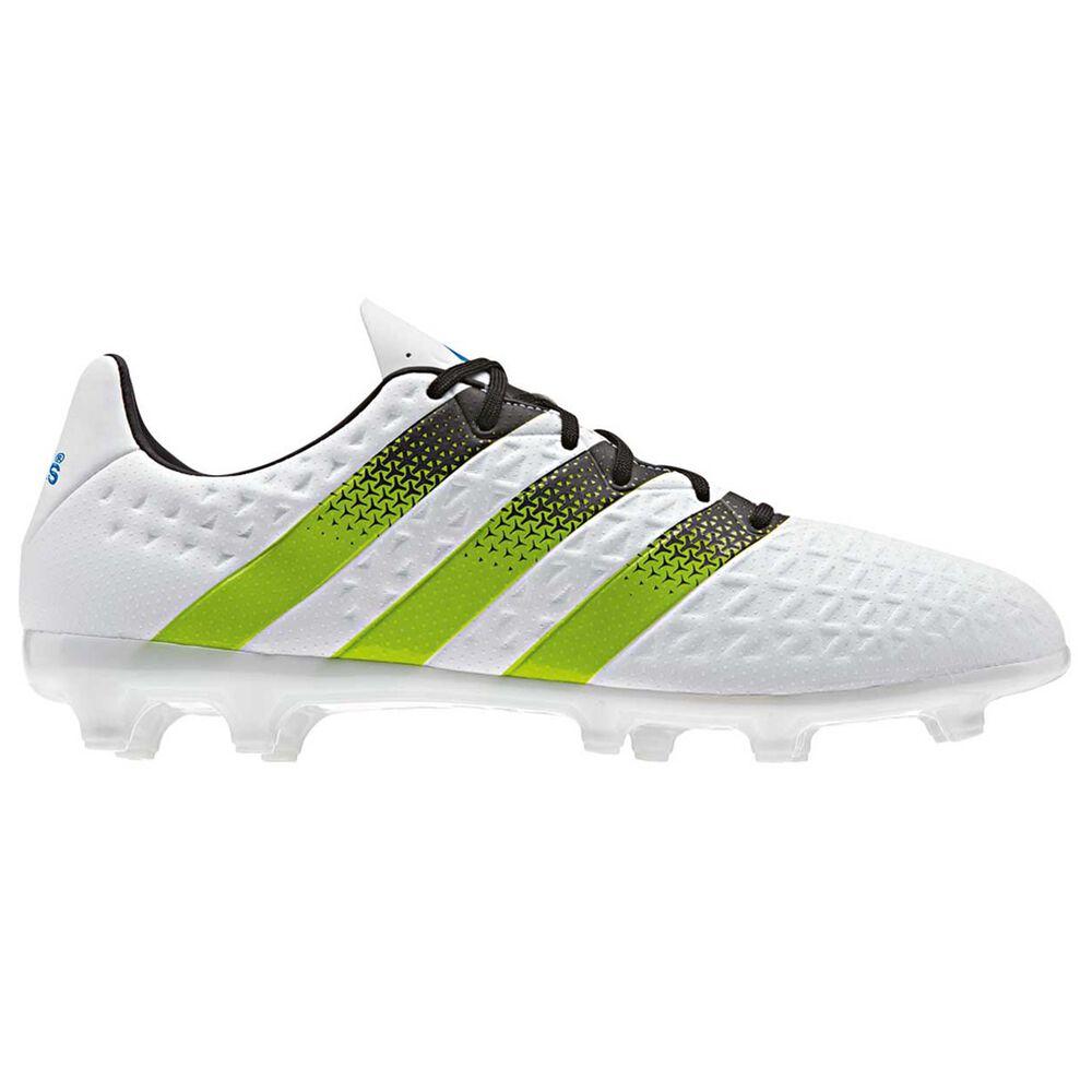 adidas ACE 16.3 Mens Football Boots White   Black US 9 Adult  f8bae0e23