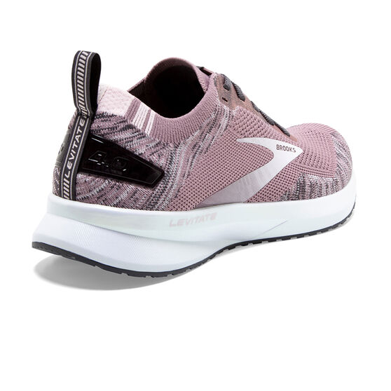 Brooks Levitate 4 Womens Running Shoes, Grey, rebel_hi-res