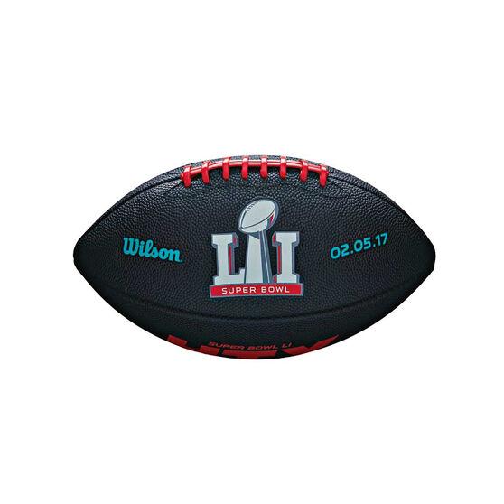 Wilson NFL Super Bowl 51 Junior Rubber Football, , rebel_hi-res
