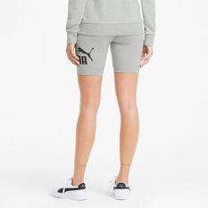 Puma Womens Essentials 7in Shorts, Grey, rebel_hi-res