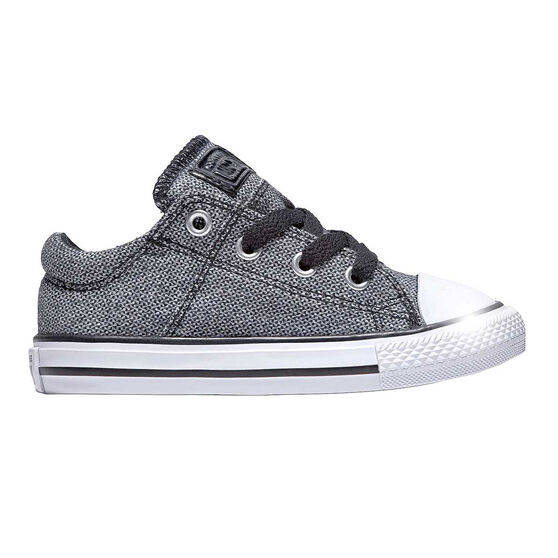 Converse Chuck Taylor All Star Madison Kids Casual Shoes, Grey, rebel_hi-res