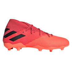 adidas Nemeziz 19.3 Football Boots Coral/Black US Mens 7 / Womens 8, Coral/Black, rebel_hi-res
