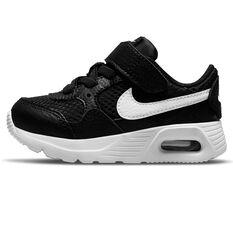 Nike Air Max SC Toddlers Shoes Black/White US 4, Black/White, rebel_hi-res