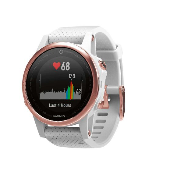 Garmin Fenix 5S Sapphire GPS Heart Rate Watch Rose Gold, , rebel_hi-res